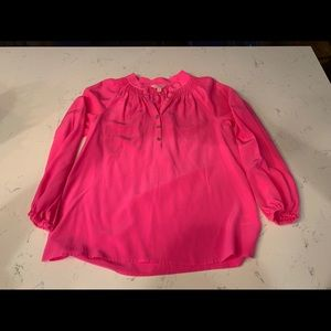 Lily Pulitzer silk blouse